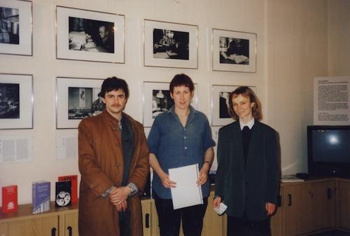 mit Mario Ambrosius und Heike Schöcher