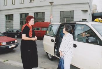 mit Frau Yoshimi Marienstraße