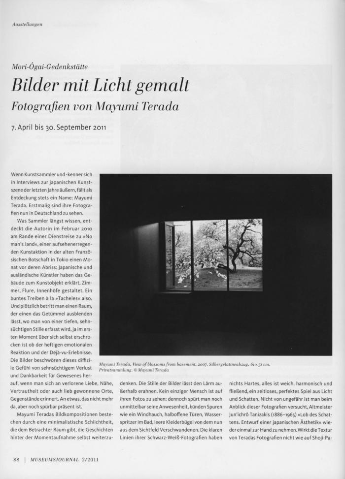 Bilder mit Licht gemalt_Museumsjournal