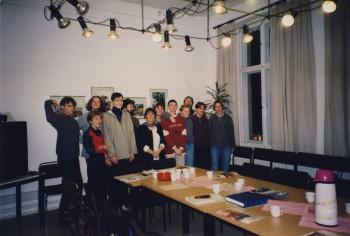 Vorbereitungsgespräch auf Aufenthalt in Tsuwano 07.03.1996