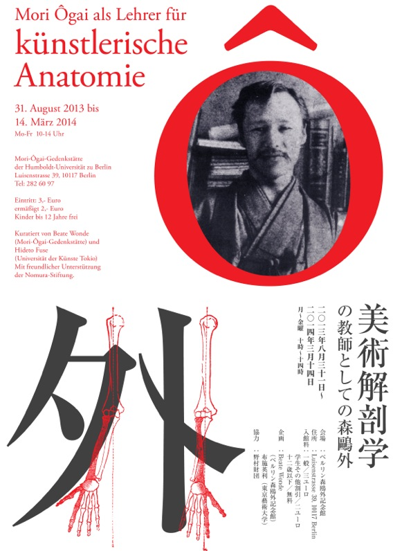 Mori Ogai als Lehrer für künstlerische Anatomie