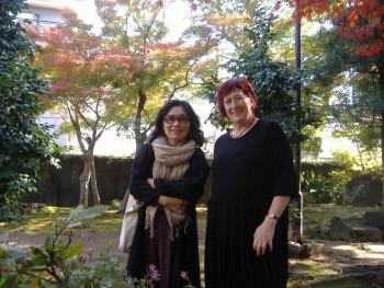 Mit Ito Hiromi im Haus von Natsume Sôseki in Kumamoto