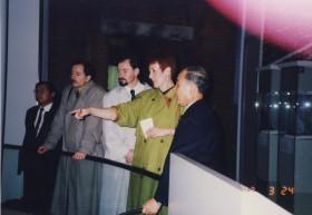 Hiroshima mit Vertretern von Berlin-Mitte