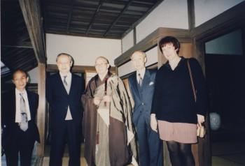 Mit Mori Tom, Hans, Leo in Tsuwano Yômyôji