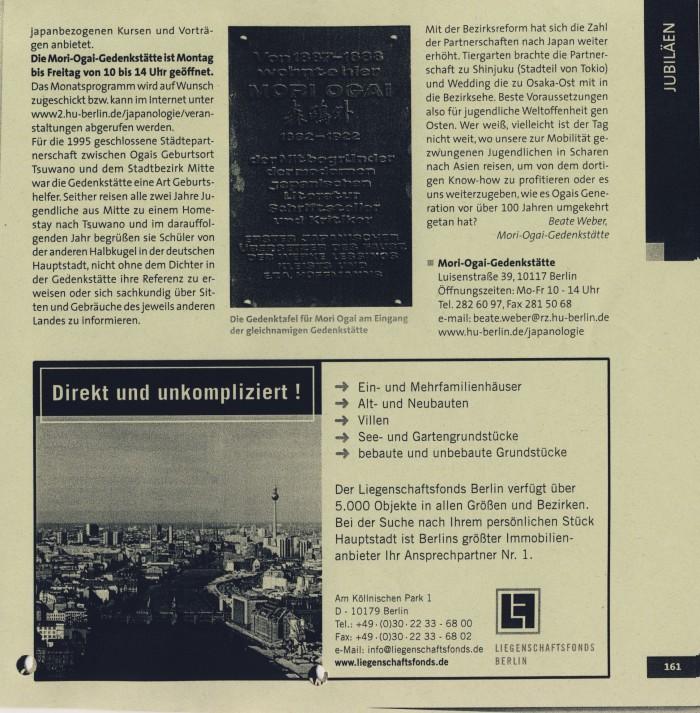 Mitte von Berlin. Metropole und Kiez, S.161