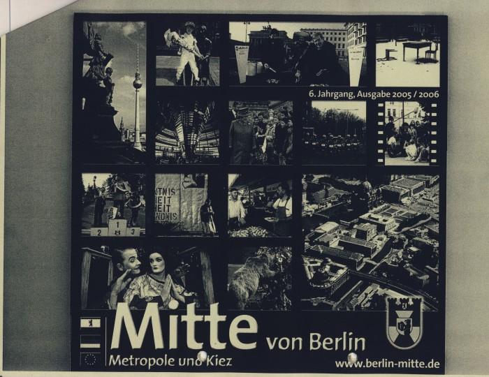 Mitte von Berlin. Metropole und Kiez, Umschlag