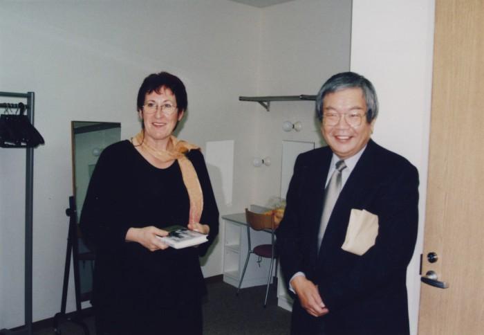 Mit Saki Ryûzô 2004