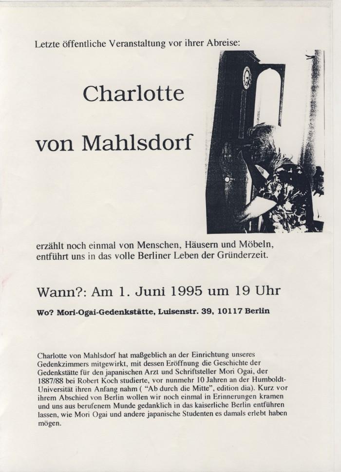 Charlotte von Mahlsdorf 01-06-95
