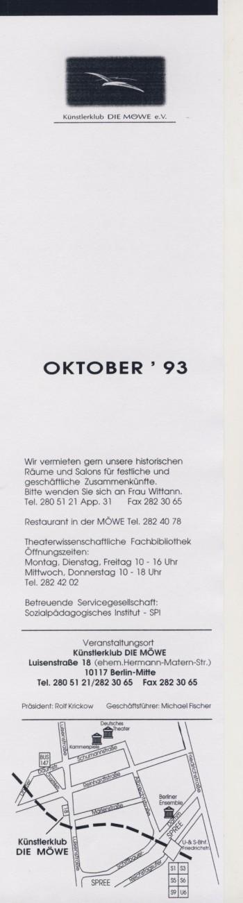 Möwe Oktober '93 ohne Farbe