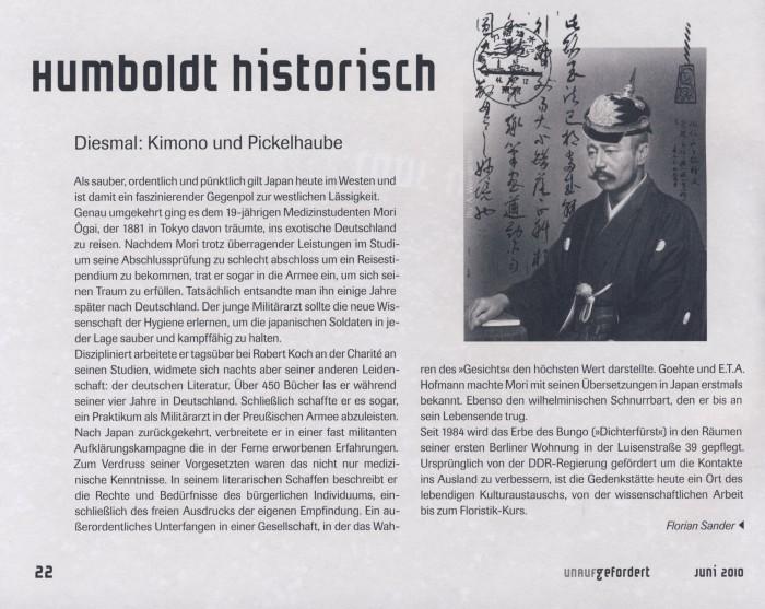 Humboldt historisch